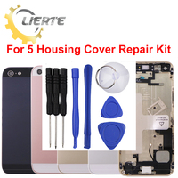 Torx Screwdriver Repair For IPhone 5S 5GS Frame Bezel Chassis Back Full Housing Battery Door Rear