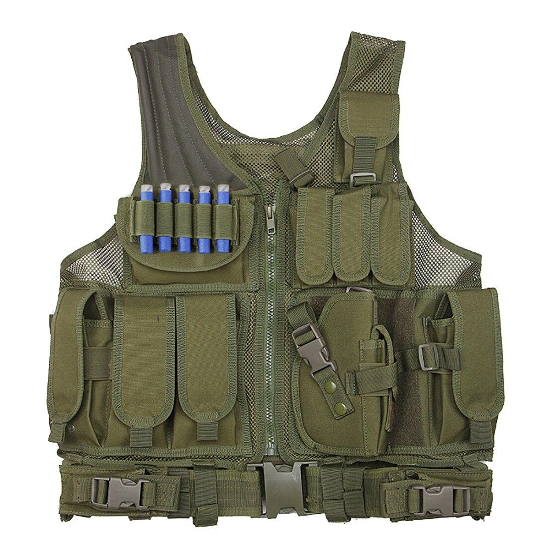 NFSTRIKE militaire tactique accessoires multi-fonction tir protection gilets pour Nerf défense tactique accessoires