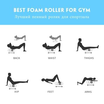 Column Yoga Block, Fitness Equipment, Foam Roller Fitness Gym, Exercises Muscle Massage 10