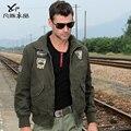 Frete grátis novo homem dos homens casual masculino jaqueta outerwear casuais top coat jaqueta M65 jaqueta 101 piloto na venda