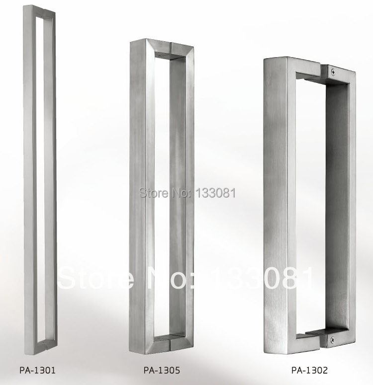 Attirant Modern Premium Door Handles Pull / Push Stainless Steel Entrance /Square  Tubing Back To Back Pull Handle On Aliexpress.com   Alibaba Group