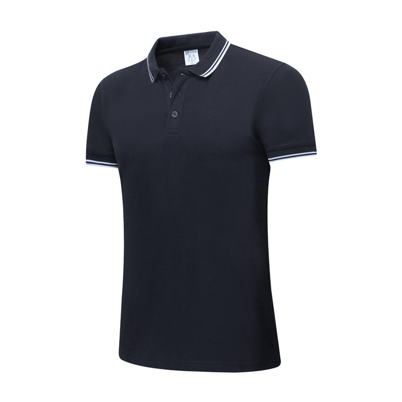 New 2019 Summer Men's Casual Solid   Polo   Shirt Desiger   Polos   Men Cotton Short Sleeve Shirt Jerseys Golftennis Plus Size S- XXXL