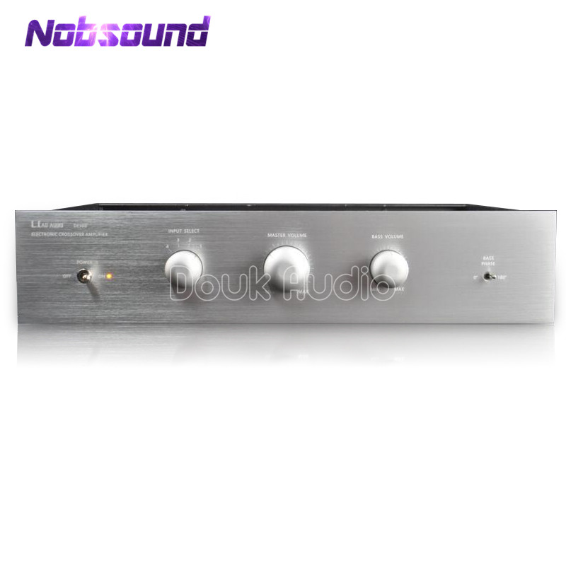 Hi-end Electronic Tube Crossover Amplifier Audiophile for Smallsize Open Baffle Speaker