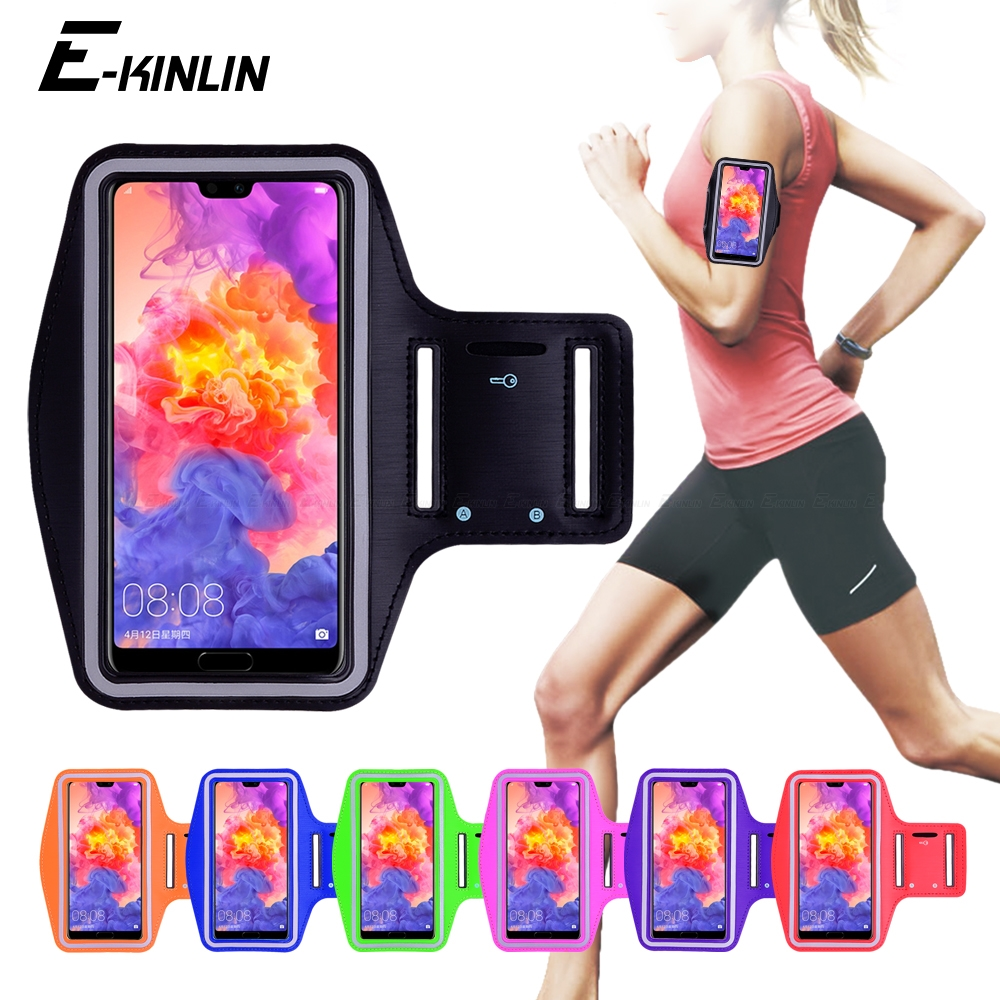 Running Sport Workout Arm Band Case Cover For HuaWei Honor 10i View Mate 30 20 P Smart Plus P40 P30 P20 Pro Lite E 5G(China)