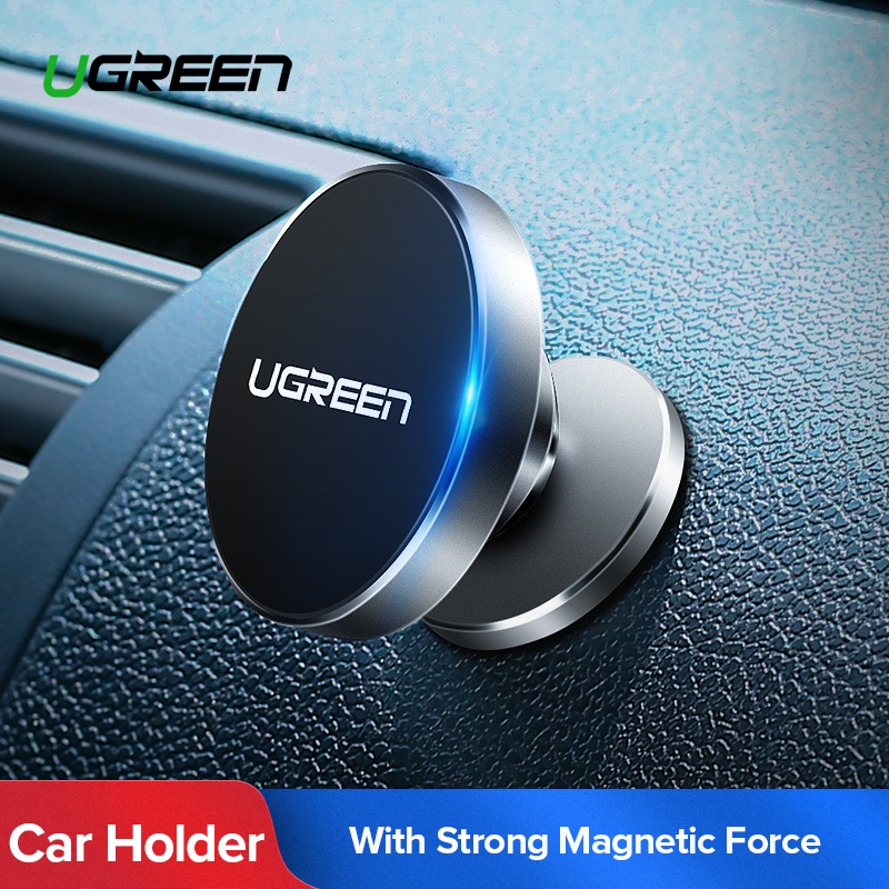 Ugreen Magnetic Phone Holder Para o iphone X 8 7 6 Painel Air Vent Mount Suporte Suporte para o Telefone no Carro suporte de Suporte do Telefone móvel