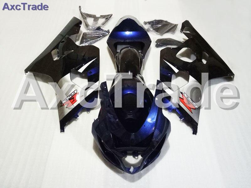 Alta Qualidade ABS Plástico GSX-R Apto Para Suzuki GSXR 600 750 2004 2005 04 K4 05 Moto Motocicleta Feita Sob Encomenda carenagem Kit Carroçaria