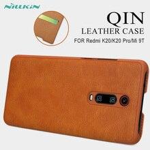 Для Xiao mi Red mi K20 Pro Чехол-книжка NILLKIN Qin кожаный чехол для mi 9T 9T Pro кошелек Чехол