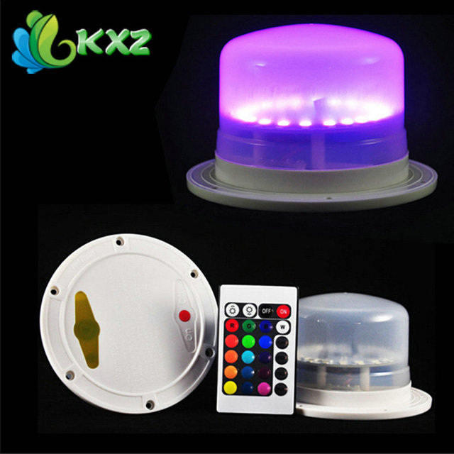 Led Furniture Lighting Battery Rechargeable Led Bulb Rgb Remote Control Waterproof Ip68 Swimming