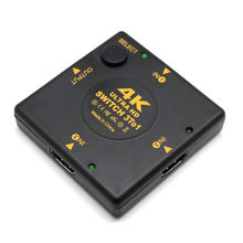 4 K HDMI Switch Switcher Kotak Selector 3 Di 1 Audio Extractor HUB Splitter Dropshipping April06(China)