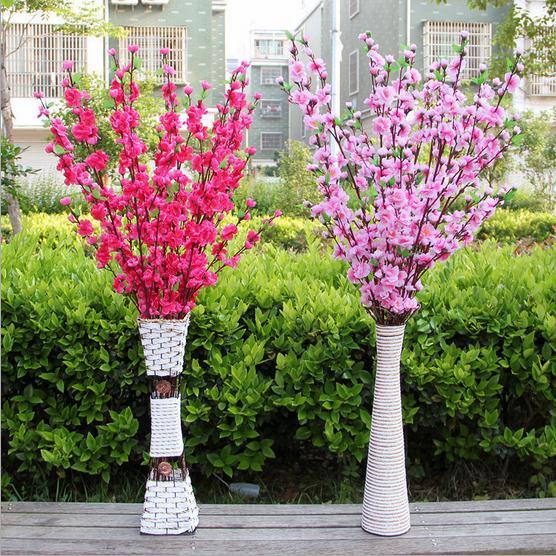 Lule mëndafshi të reja të bukurosheve Degë artificiale bukuroshe - Furnizimet e partisë - Foto 6