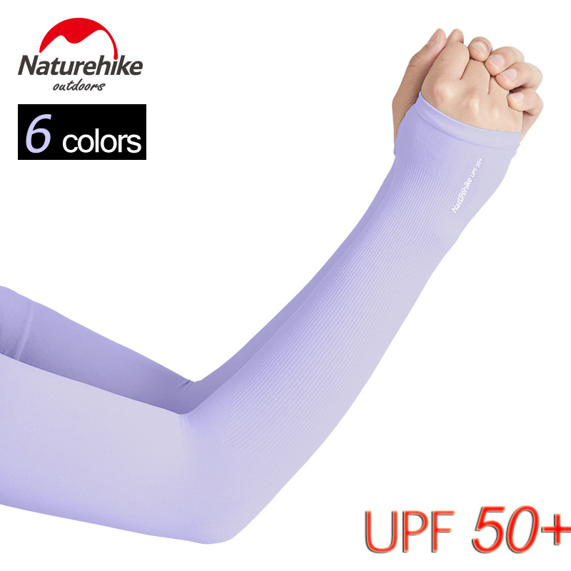 UPF 50 Sunblock UV Protection Cooling Arm Sleeves For Men Women Outdoor Sports Gloves Running Cycling Basketball Driving Fishing