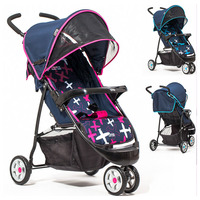 Baby Tricycle 3 Wheel Stroller Can Lie Lightweight Pram BB Car Portable Foldable Sunshade Baby Carriage Jogger Pushchair 0~3Y