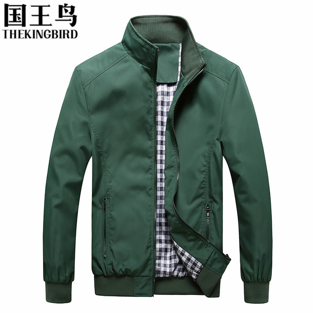 Men's jackets 2016 Spring Large size men's jacket thin section light Business Collar Casual Men's coats M-5XLTKB001#