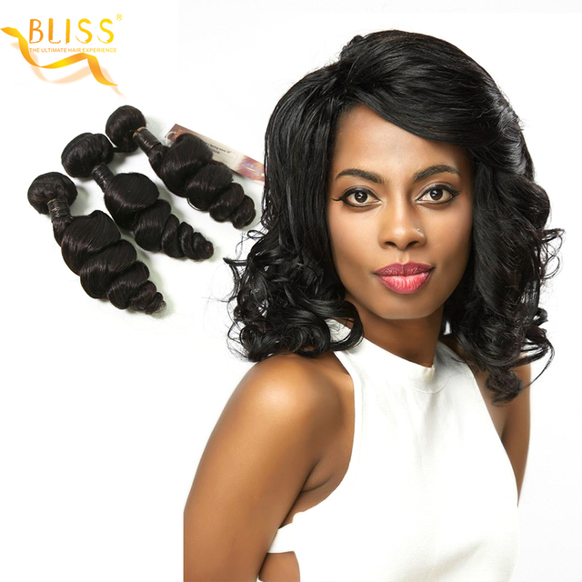 Bliss Hair Spring Wave Brazilian Hair Weave 3 Bundles 210 Gram 8 30