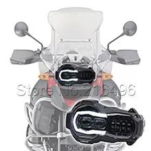 2018 LED reflektor dla BMW R1200GS R 1200 GS adv r1200gs lc 2004-2012 (fit chłodnica oleju) tanie tanio NoEnName_Null Montaż reflektorów CN (pochodzenie) 110w aluminum housing 12v 24v Emark