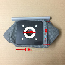 1 piece universal Dust bag Cloth washable Bag Vacuum Cleaner Bag Fits for Philips Nilfisk Bomann Clatronic Melissa etc.