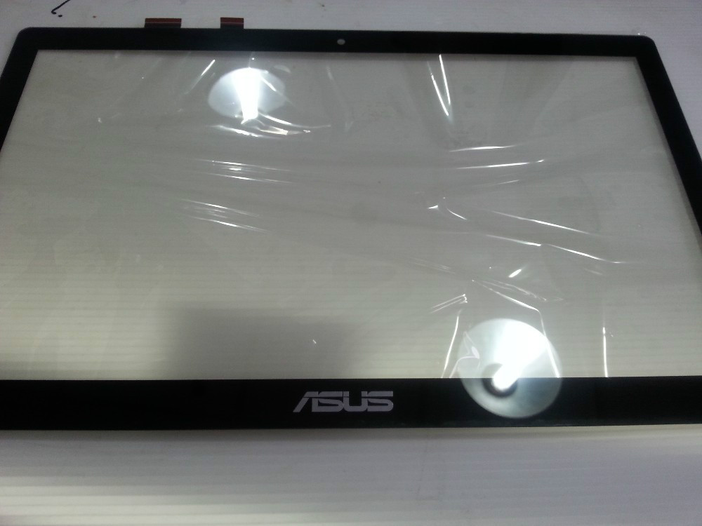 ФОТО Free Shipping 15.6 touch screen for asus touch screen for Asus S500 S550 Digitizer touch Screen panel TCP15F81 V1.0