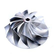 Turbo Compressor Billet 11 blades Wheel Mitsu*ishi TD04HL 19T VOL*O S70 / SUB*RU Legacy / Gred*ys spool faster # 405-9901D-481 billet turbo compressor wheel mitsu ishi l200 4dr6t 2 5l td04 7b 31 8 49 mm 405 9901d 412