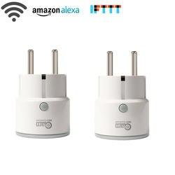 НЕО COOLCAM WiFi умный пульт дистанционного управления розетка таймер Поддержка Google Home Mini, IFTTT, Alexa для умный дом автоматизация