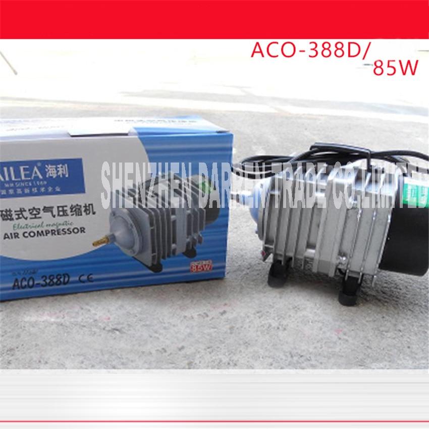 ACO 388D 90L / min 85W/70W Oxygen fish tank air pump 220 V AC Electromagnetic pond aerator bubble Aquarium air compressor