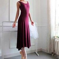 Thể dục dụng cụ leotard tutu ba lê hiện đại nhảy mới thực hiện chuyên môn cotton Lycra trống/rượu vang đỏ váy váy