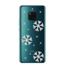 For Huawei Mate 20 10 lite Phone case Android 8.1 For Huawei Mate 20 pro 7A Honor 9 lite 10 8X cases Rhinestone clear back cover(China)
