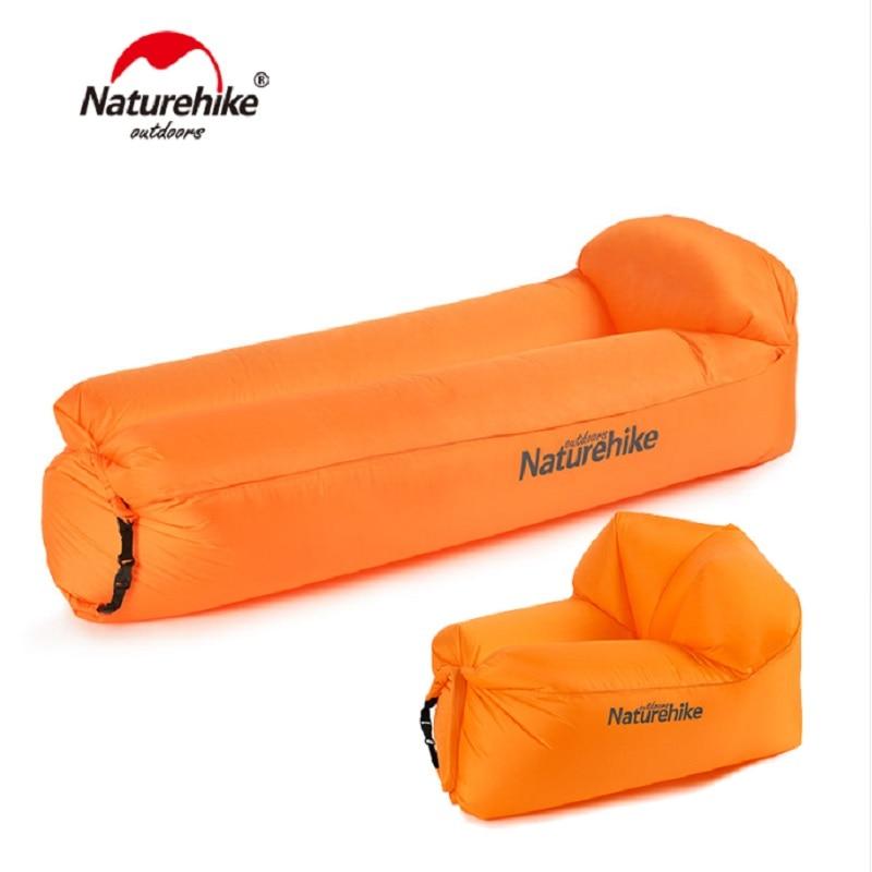 Naturehike Anti-Air Outdoor Portable Waterproof Inflatable Air Sofa Camping Beach Sofa Foldable Lounger NH18S030-S