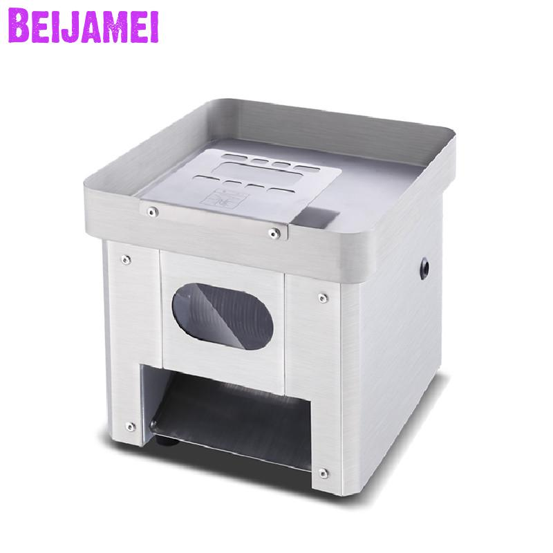 Beijamei 850w 220v Stainless Steel Meat Cutter Grinder, Electric Meat Mincer Chopper Slicer Machine Price