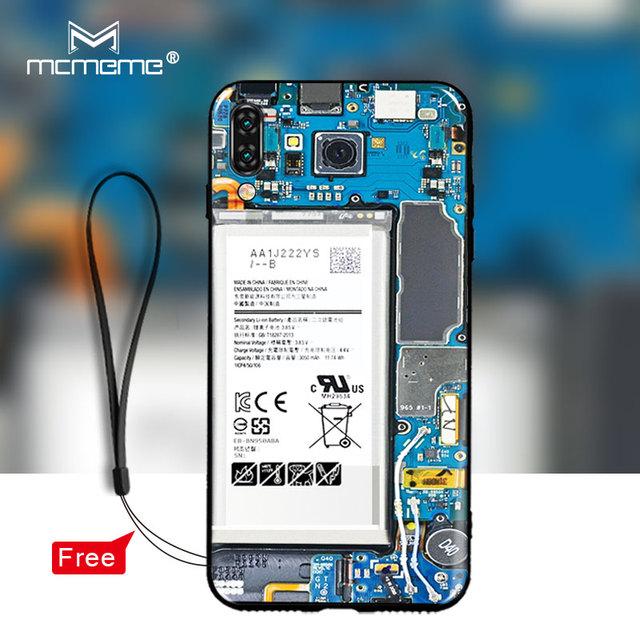 For vivo v11 pro case cover Soft TPU Silicon Pretty interesting battery painting back cover For vivo v11 v11pro v 11 case bag