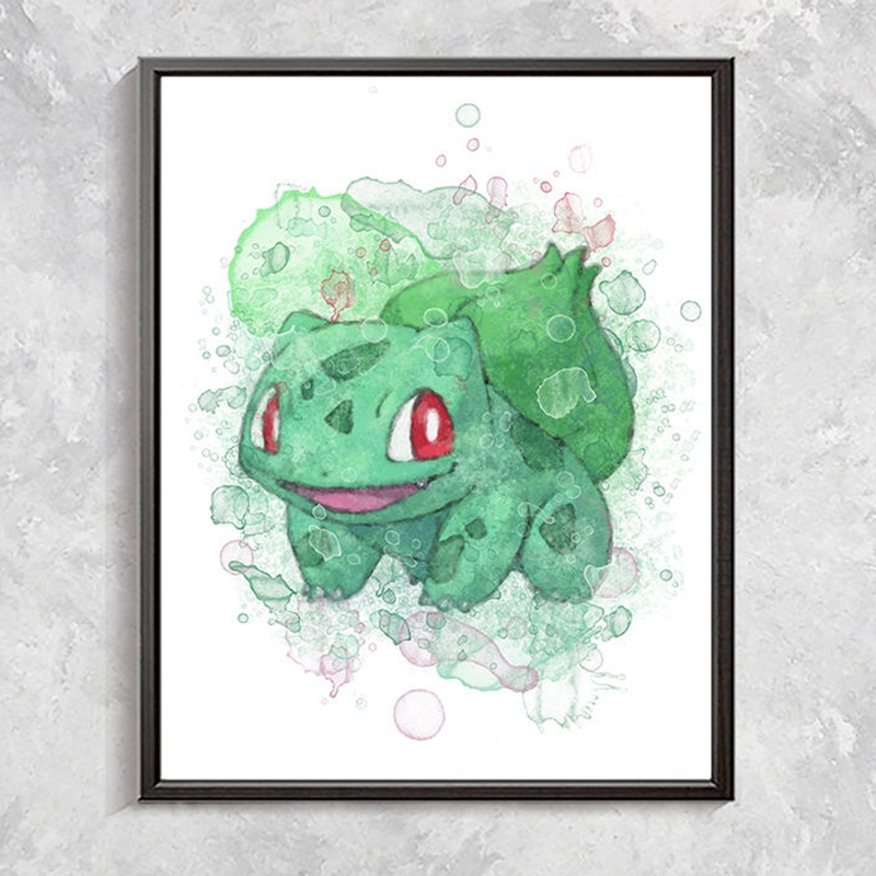 Pokemon Posters Canvas Art Painting Home Decor
