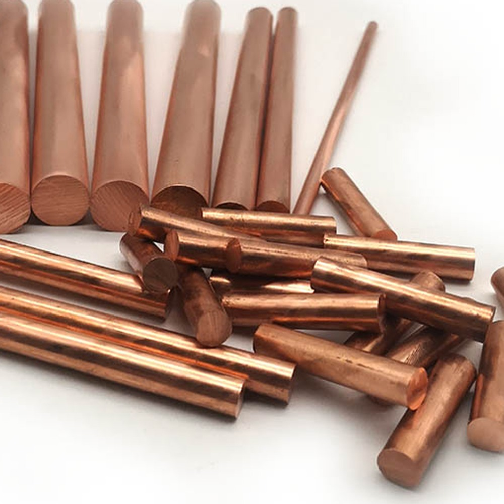 3mm x 300mm Length QTY x 1 Copper Round Bar Rod Milling Welding Metalworking