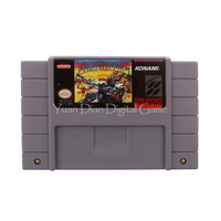 Nintendo SFC SNES Video Game Cartridge Console Card Sunset Riders USA English Language Version