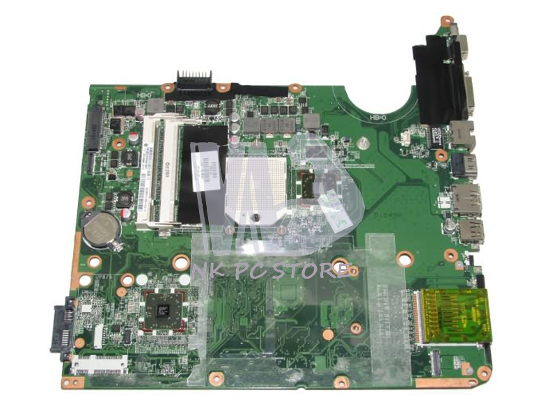 574679-001 Main Board For HP Pavilion DV7 DV7-3000 Laptop Motherboard DA0UT1MB6E0 Socket S1 DDR2 Free CPU 613211 001 main board for hp probook 4525s laptop motherboard socket s1 ddr3 with free cpu