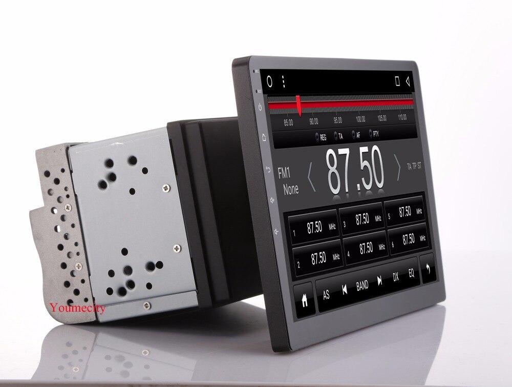 Youmecity 10 pouce écran Octa core 2 din android 8.1 universel De Voiture Radio Double DVD GPS Navigation Au tableau de bord PC stéréo vidéo wifi