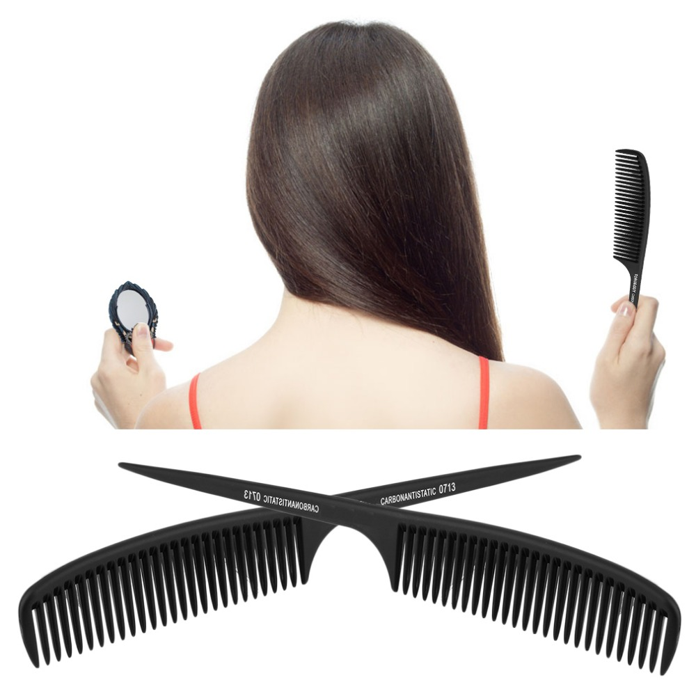 Fashion Beauty Plastic Professional Hairdressing Tail Comb Haircut Hairdressing Barber Comb Styling Tools