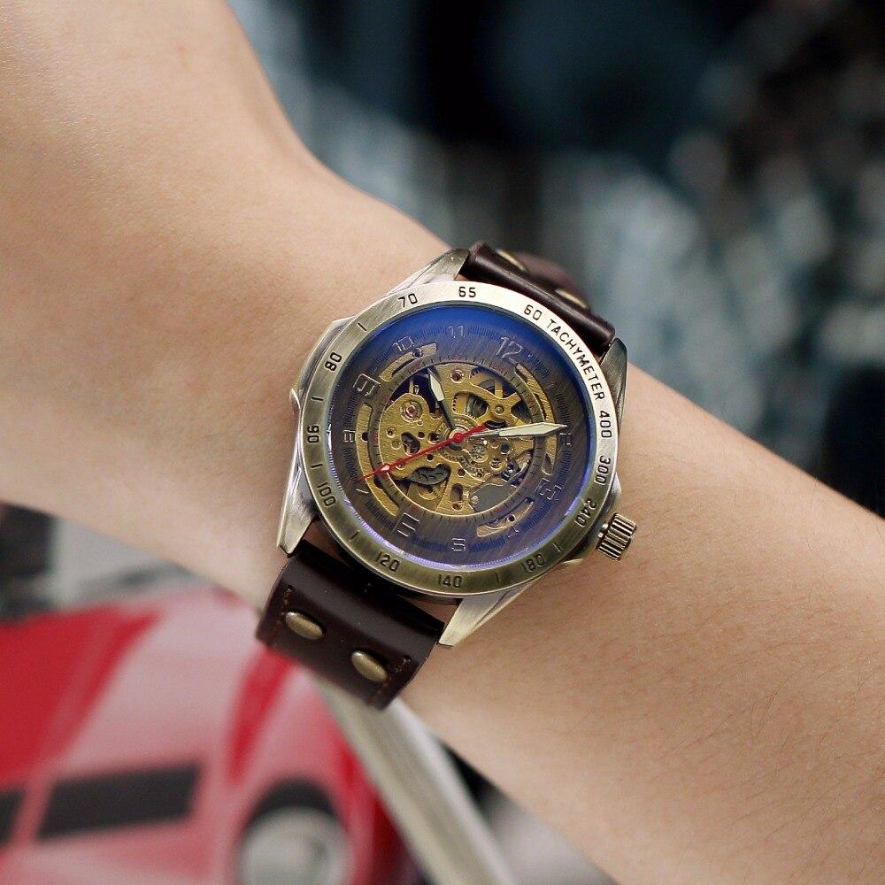 Наручные часы скелетоны