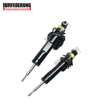 Luftfederung 2pcs Shock Absorber Rear With Sensor Inductor VDC Spring Strut Fit BMW E70 X5 X6 E71 S63 37126788766 37126788765