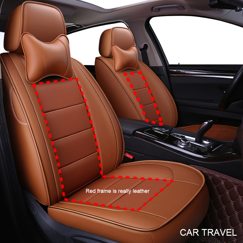 custom Genuine leather car seat cover For Toyota alphard Prado RAV4 Fj CRUISER LAND CRUISER CROWN Fortuner COROLLA Sienna covers in Automobiles Seat Covers from Automobiles Motorcycles