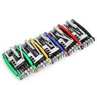 Bicycle Repair Pocket Folding Tool 11 In 1 Multi Tool Bike Repair Tool Kit Wrench Screwdriver