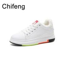women platform sneakers womens shoes white winter woman casual flats women's vulcanize shoe