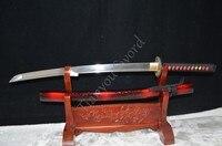 Fully Handmade Japanese Vintage Samurai Sword Wakizashi Folded Steel Full Tang Sharp Can Cut&Home Decoration Dragon Theme Huang