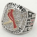Wholesale 2011  Louis cardinals Major League Zinc Alloy 24K gold plated Custom Sports Replica world Championship Ring for Men