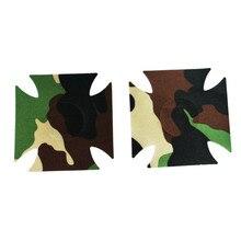 10 Pairs Silicone Camouflage Boobs Dug Sheath