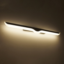 0.4m-1.2m Modern Led wall lamp bathroom mirror lights sconce bedroom living room luminaire lamparas de pared lighting fixture iwhd golden led wall light bathroom bedroom glass ball wall lamp modern sconce led stair lights lamparas de pared