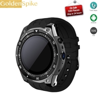 Low price X100 PK GW06 Q1 PRO Bluetooth Smart Watch ROM 8GB 3G GPS WiFi Android 5.1 SmartWatch Heart Rate Meter Step Watch