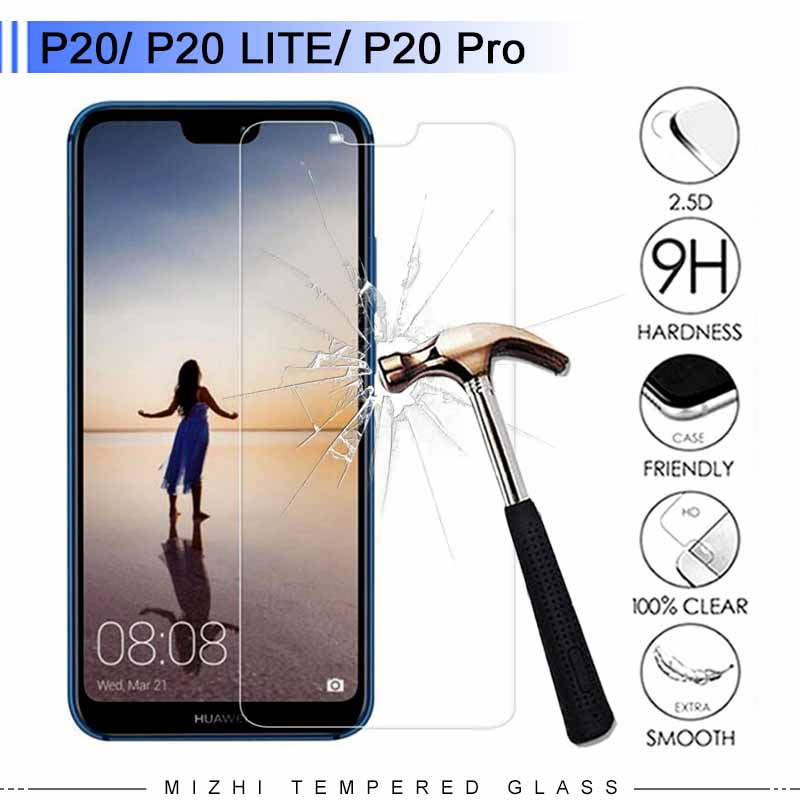 Glass For Huawei P20 Lite Glass P20 Plus Pro Tempered Glas Screen Protector Protective Film 9H 2.5D Protection Protect Premium