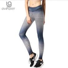 New Style Hot Sale High Waist Athleisure Polka Dot Legging Sportswear Print Dot Fitness Leggings Jegging Women Long Pants
