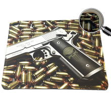 Hot DIY Pistols Print Computer Laptop Notebook PC Mouse Pad Speed Up Gaming Rubber Mice Pad Mousepad For Optical Laser Mouse Mat