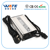 24V 8A Charger 24V Lead acid Battery Charger Output 27.6V With Fan Aluminum Shell Smart Charger