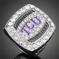 NCAA 2014 College World Series National Seed Texas Christian University Baseball TCU Horned Frogs Replica Sports Rings J02045